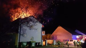 Gebäudebrand